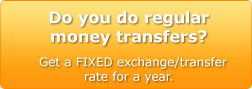 Buy, convert, transfer, compare or exchange money/currency